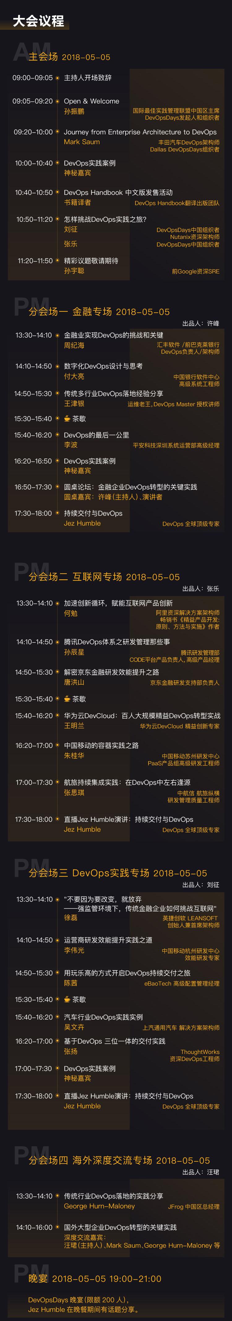 DevOpsDays Beijing 2018leangoo会议议程