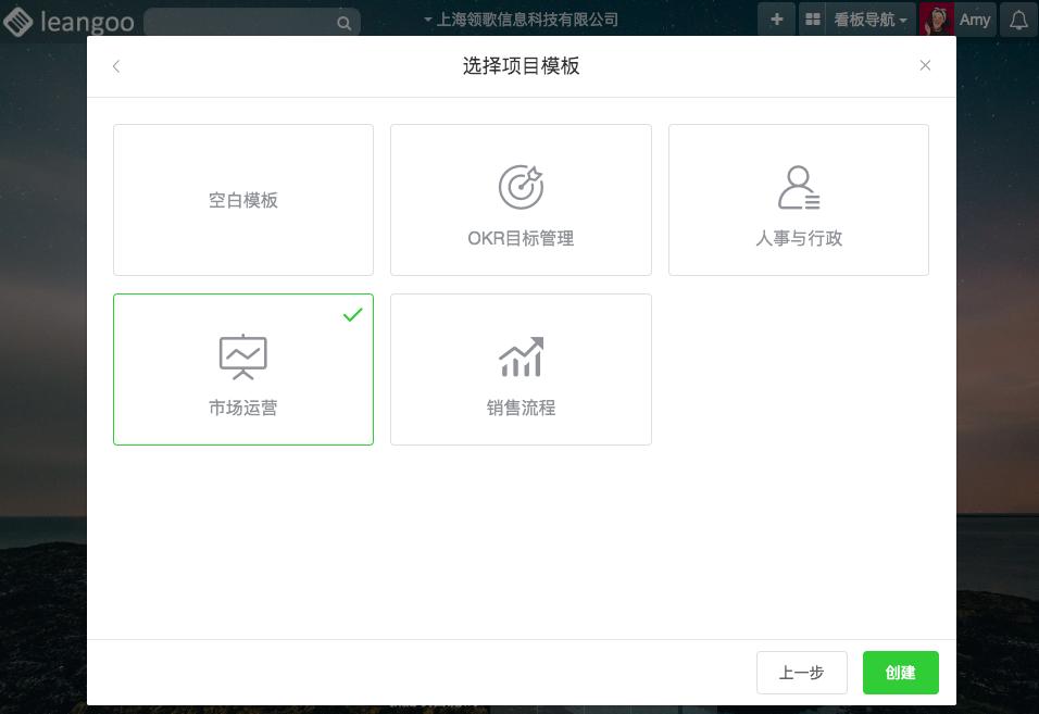 leangoo项目管理软件市场运营